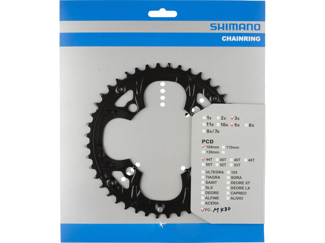 Shimano Deore FC-M480 Chain Ring black